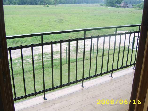 Smede, металлообработка : oграждения балконов : turaidas iel.